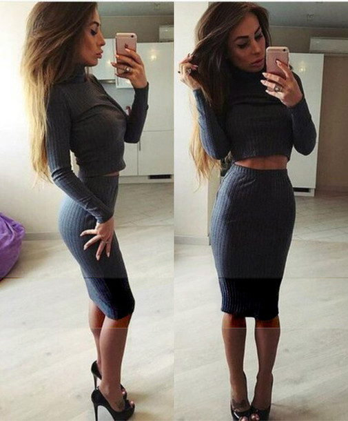 2 Piece Dress Outfit Women