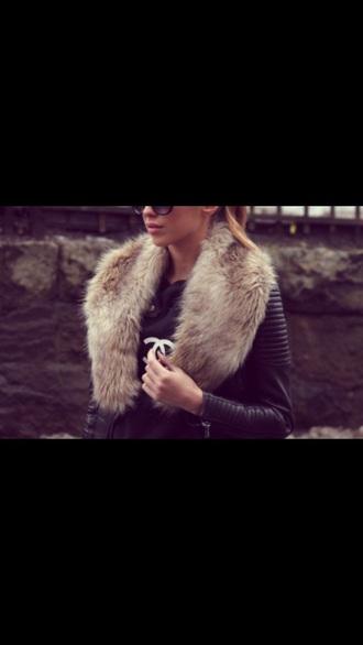jacket black leather fur winter fashion class leather jacket fur vest fur coat