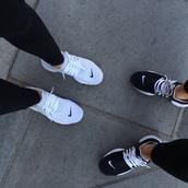 shoes,white,nike,nike running shoes,nike air,black,sneakers,nike sneakers,sportswear,sports shoes,kicks,nike kicks,black and white,nike shoes,running shoes,light-blue,nike sportswear,baskets,run,low top sneakers,white sneakers,black sneakers,grey,nike womans,black free white swoosh,blsck,nikes,white shoes,black shoes,white nikes,workout,fashion inspo,inspo pic,nike air presto,presto,nike presto