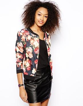Vero Moda | Vero Moda Floral Bomber Jacket at ASOS