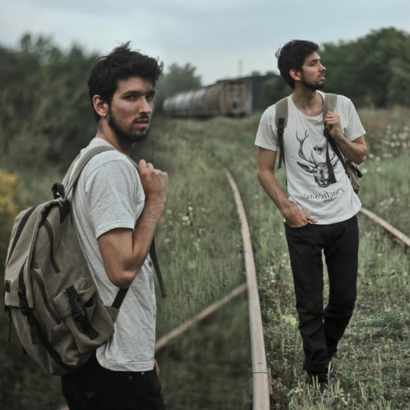 deer t-shirt hipster bobby raffin blogger jeans menswear backpack grey guys mens t-shirt mens pants