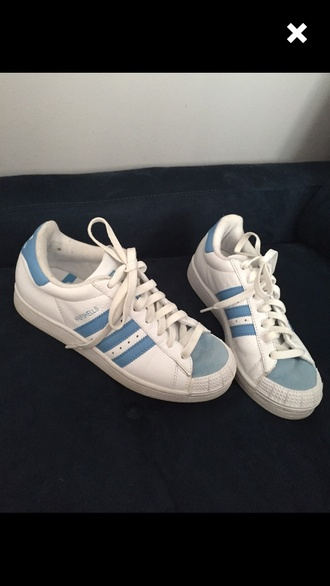 shoes adidas blue white aesthetic soft pale soft grunge grunge aquatic health goth aesthetic tumblr