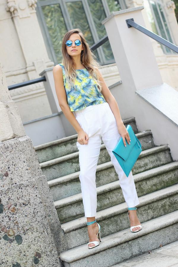 fashion quite blogger top bag