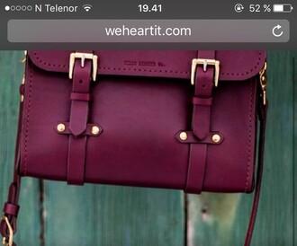 Burgundy Satchel Bag - Shop for Burgundy Satchel Bag on Wheretoget