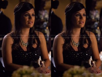 dress hart of dixie rachel bilson strapless necklace jewels