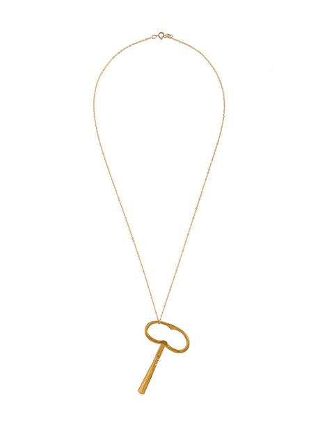 ALIGHIERI women necklace pendant gold yellow orange bronze jewels