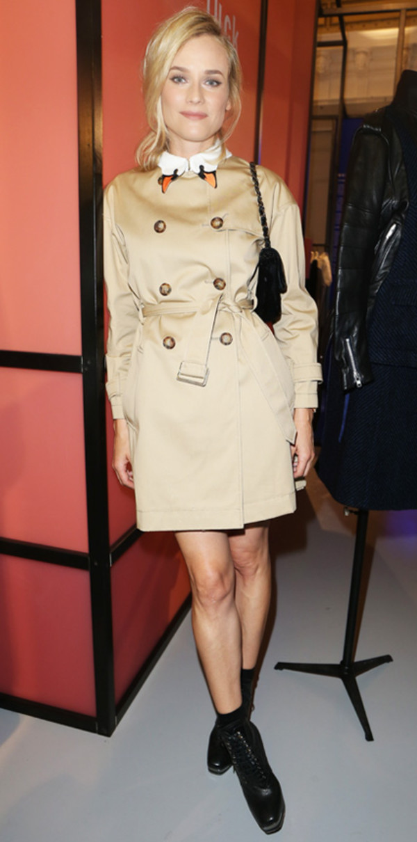 trench coat diane kruger