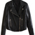 ROMWE | Slimming Black Leather Jacket, The Latest Street Fashion