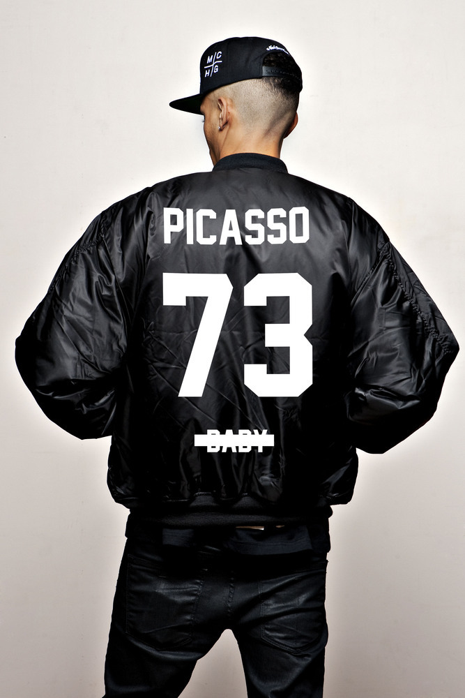 "Z picasso baby ""bomber"" magna carta world tour limited edition"