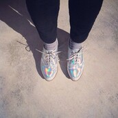 shoes,silber,alternative,crazy,holographic,urban,urban outfitters
