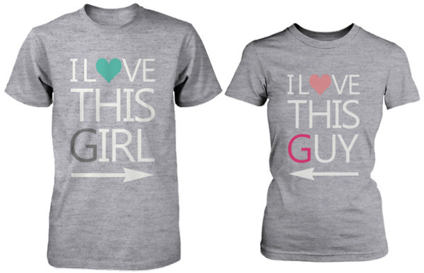 shirt grey shirt couple shirts matching shirts couple gifts for her gifts ideas