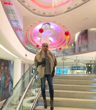 shirt fur mink vintage dior hermes clutch london paris fur coat mink fur alexander mcqueen fashion style style me boots booties