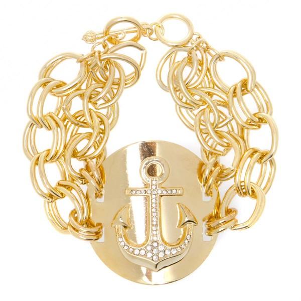jewels anchor anchor bracelet