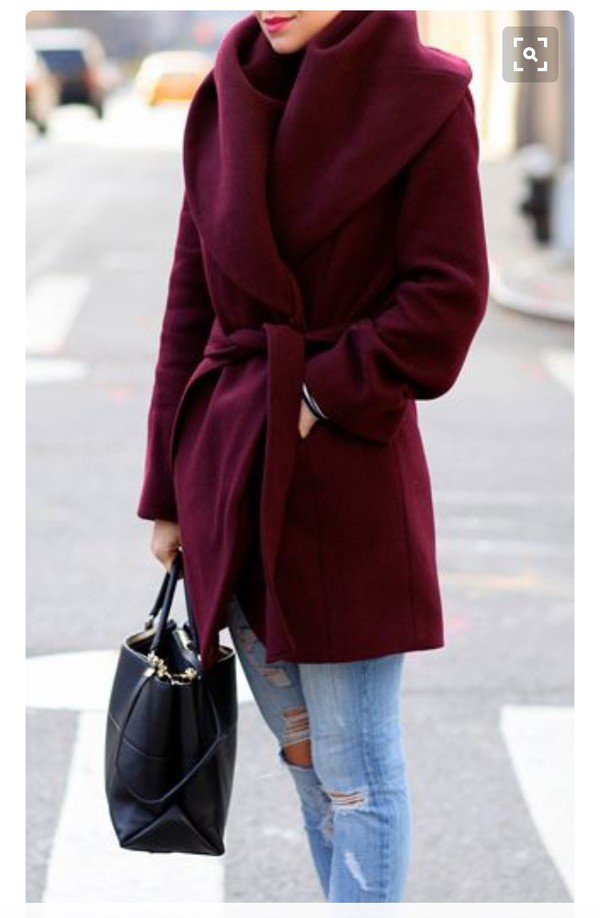 Tahari Wool-Blend Wrap Coat - Coats - Women - Macy's