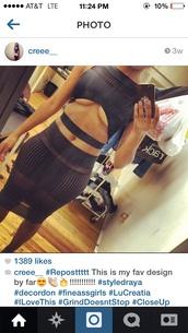 dress,bandage dress,bodycon,black mesh