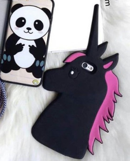 phone cover phone cover iphone black unicorn