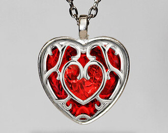 jewels pendant zelda container heart glass pipe
