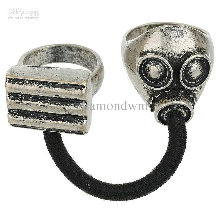 Wholesale Gas Mask Ring, Free shipping, $30.25/Dozen | DHgate Mobile
