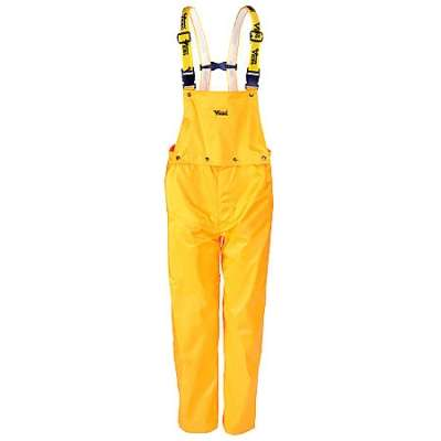 Viking Pants: Journeyman Yellow Waterproof Bib Overalls 3300P