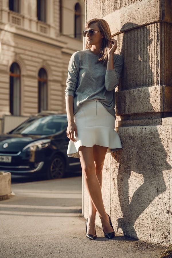 katiquette shoes skirt