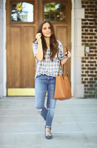 dress corilynn blogger shirt jeans bag shoes sunglasses jewels