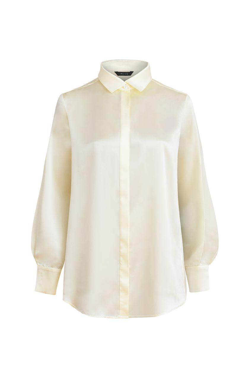 Silk shirt - Rita champagne