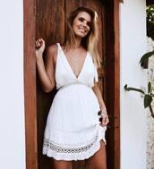 dress,white dress