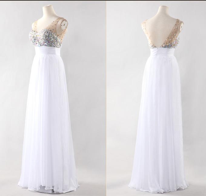 Shining elegant long dress super nice