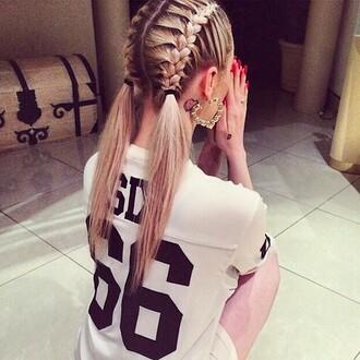 shirt t-shirt hair accessories
