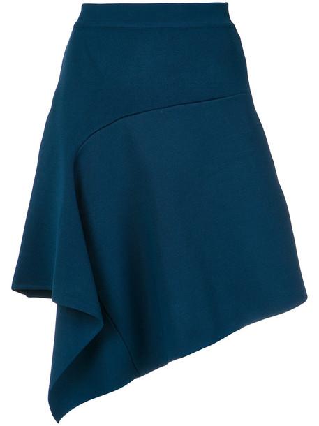 skirt flare skirt flare women blue