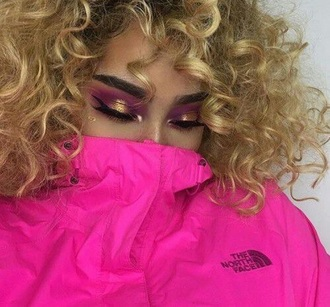 jacket bright pink