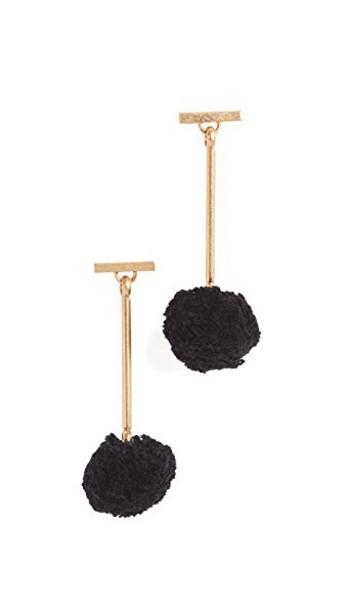 Madewell earrings black jewels