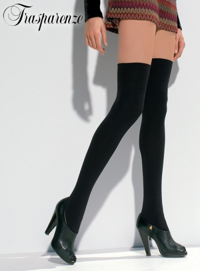 Trasparenze Caballero Over Knee Sock from Alex Blake - The Online Hosiery Store
