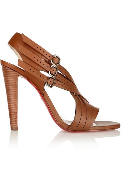 Christian Louboutin Leather Sandals Cdf5wu