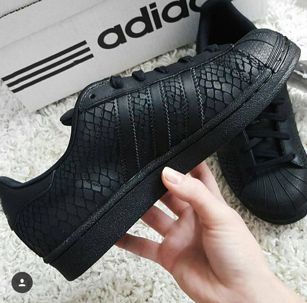 Adidas Superstar Snake Black