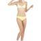 Lolli swim moon lover bikini top - yellow
