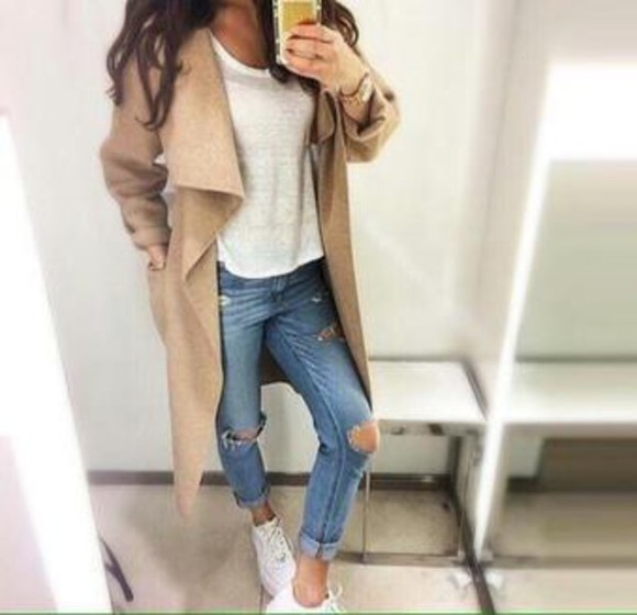beige style wool wool coat warm winter coats winter coat