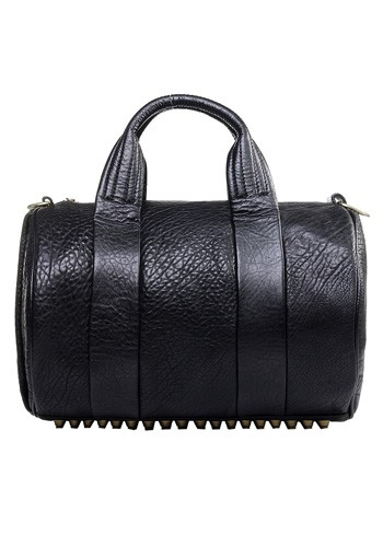 Alexa Duffle Leather Bag Studded @ Baginc.com