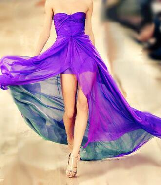 purple dress high-low dresses strapless dresses prom dress green dress dresses long dresses maxis mini dress