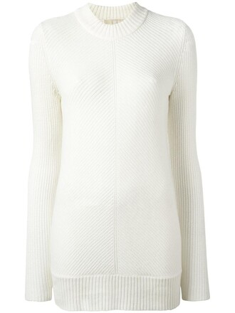 jumper women white sweater