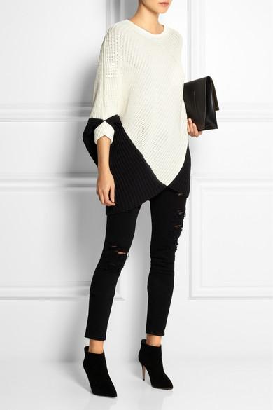 Maje|Kassiope chunky-knit sweater|NET-A-PORTER.COM