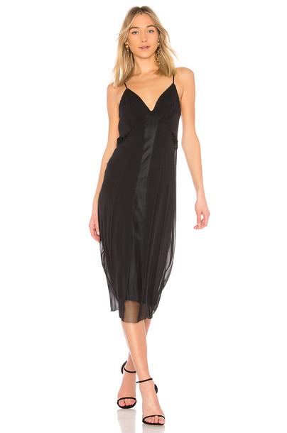 Rag & Bone dress slip dress black