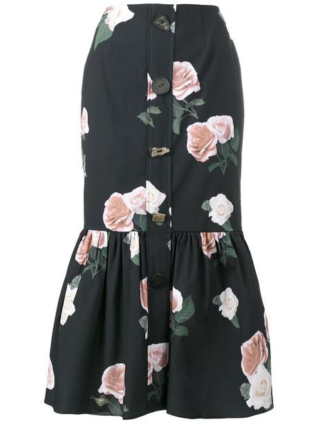 Rejina Pyo skirt women floral print blue