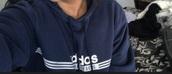 sweater,athletic,dark blue,adidas,hoodie