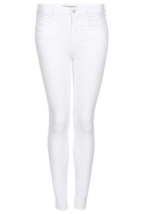 MOTO White Leigh Jeans - Jeans  - Clothing  - Topshop