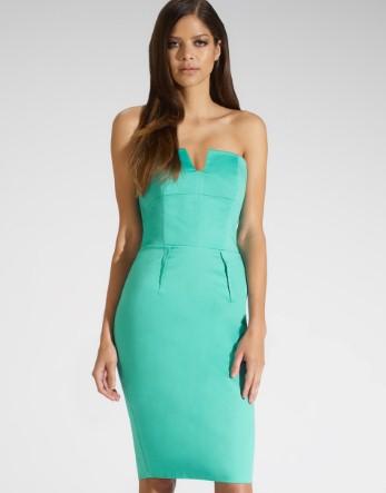 Kardashian Bandeau Midi Dress - Lipsy