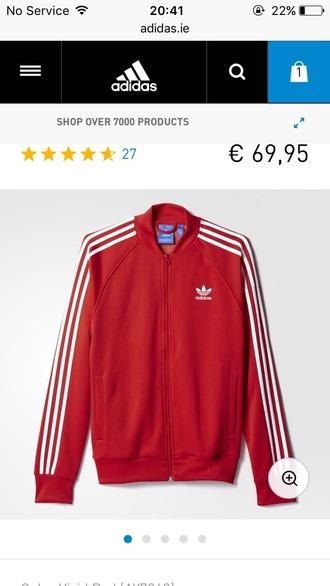 jacket adidas jacket bomber jacket red adidas