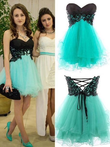 37b891f6fe1 dress homecoming dress short homecoming dress teal prom dress short prom  dress