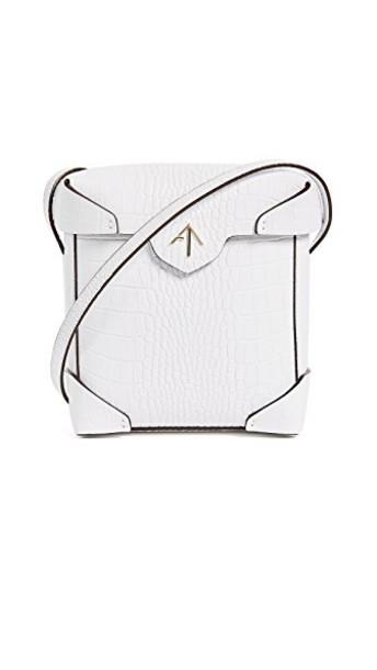 manu atelier mini bag white