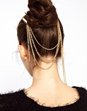 ASOS | ASOS Vintage Chain Hair Combs at ASOS